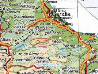 Terreno en venta en Vall De Gallinera